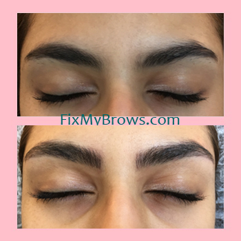 Brow Amal Before_After