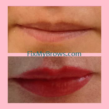 Donna Lips _ Before_After